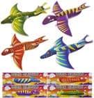 48 x DINOSAUR Polystyrene Gliders Plane Kits - Wholesale Bulk Buy